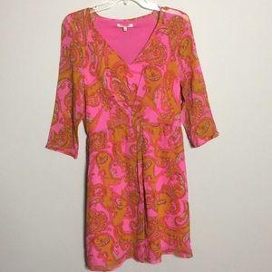 Madewell • Broadway & Broome Silk Paisley Dress